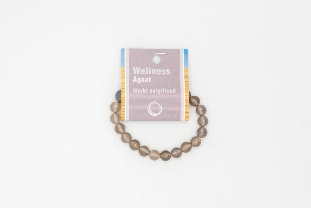 Agaat powerbead armband + kaart