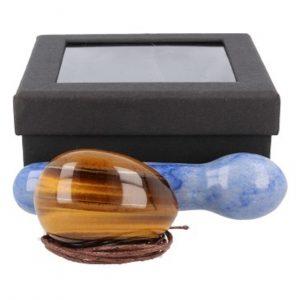 yoni-massage-set-tijgeroog-blauwe-kwarts